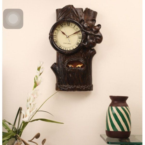 Estudiointernational Teak Wood Cuckoo Clock Personalized Anniversary Gifts