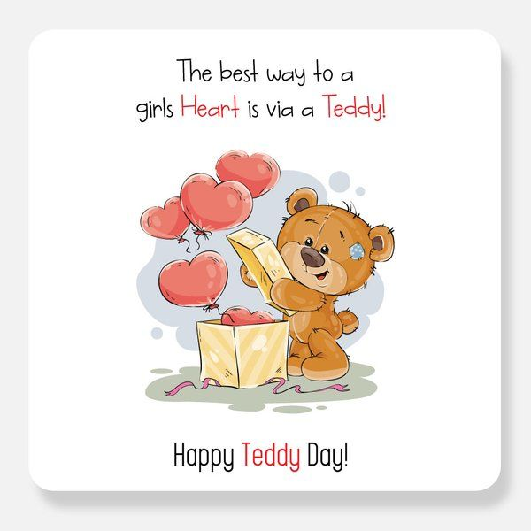 Privy Express Teddy Day Valentines Day Greetings