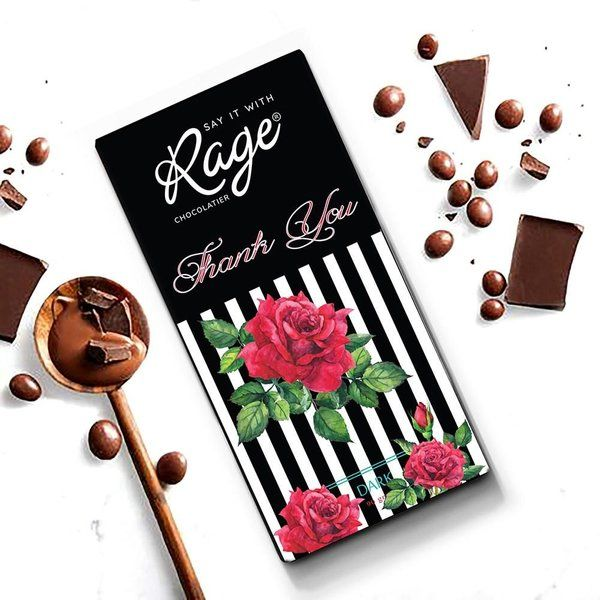 Rage Chocolatier Thank You  Personalized Anniversary Gifts