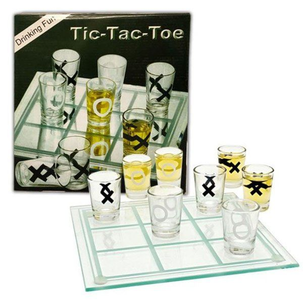 Arjoos Tic Tac Toe Drinking Game Gifts For Gamers