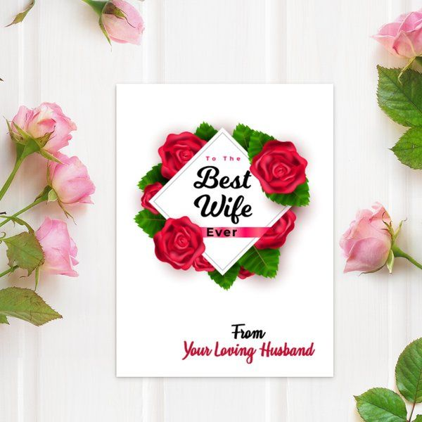 Privy Express To the best wife ever Karva Chauth Greeting Cards