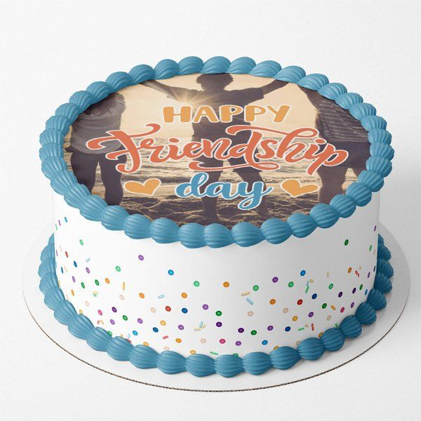 CakeZone True Friendship Personalized Photo Cakes