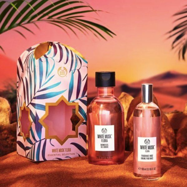 The Body Shop White Musk Flora Essential Collection 5 Year Anniversary Gif For Wife