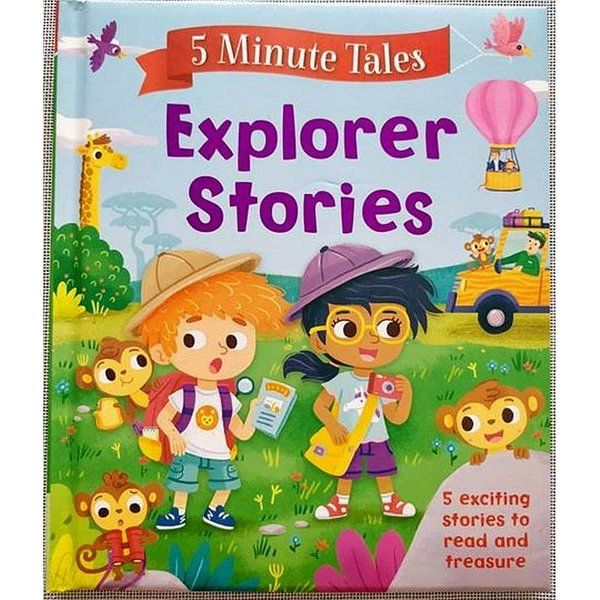 BookyWooky 5 Minute Tales Explorer Stories Story Books