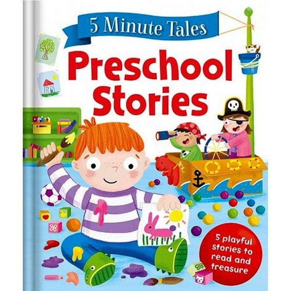 BookyWooky 5 Minute Tales Preschool Stories Story Books