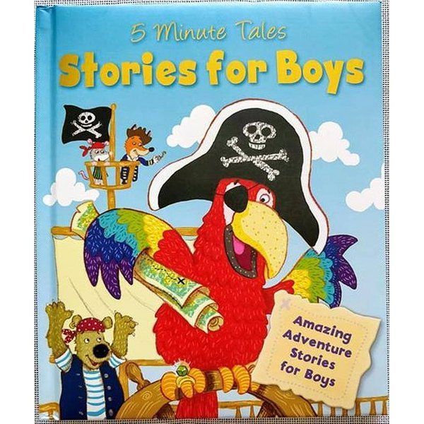 BookyWooky 5 Minute Tales Stories for Boys Story Books