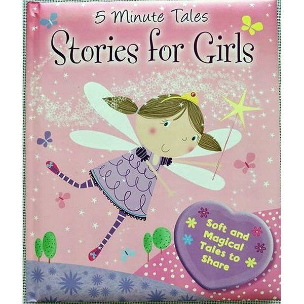 BookyWooky 5 Minute Tales Stories for Girls Story Books