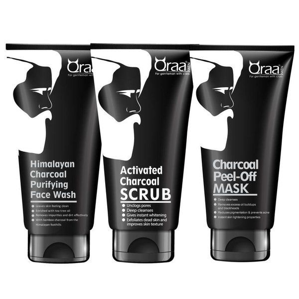 Activated Charcoal Kit Men's Grooming Kit