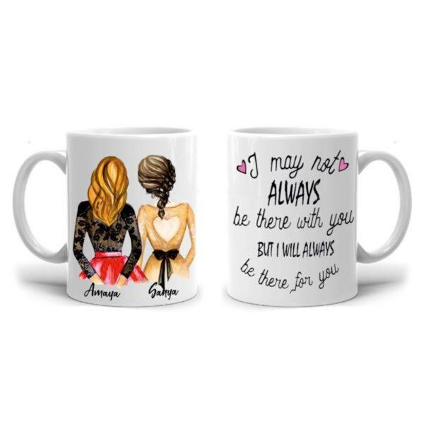 Zoci Voci Always for You Personalized Mug Personalized Gifts For Girls