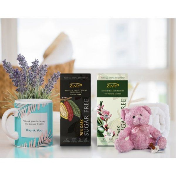 Zevic Assortment Thank You Hamper Romantic Gifts