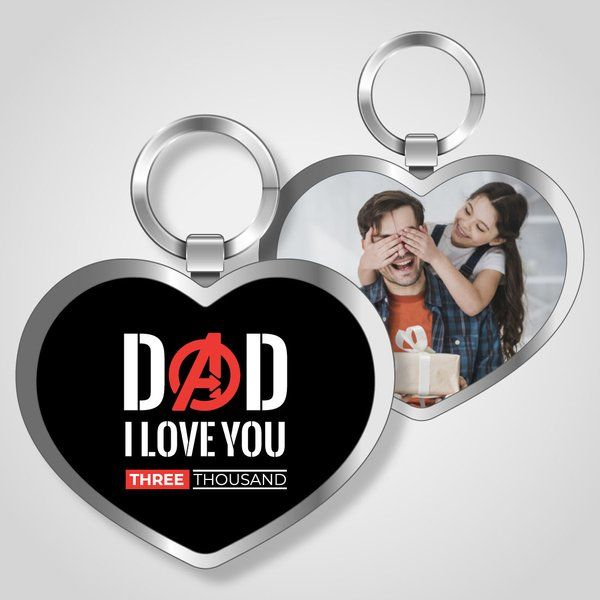 Privy Express Avenger's Dad Keychain Dad Keychains