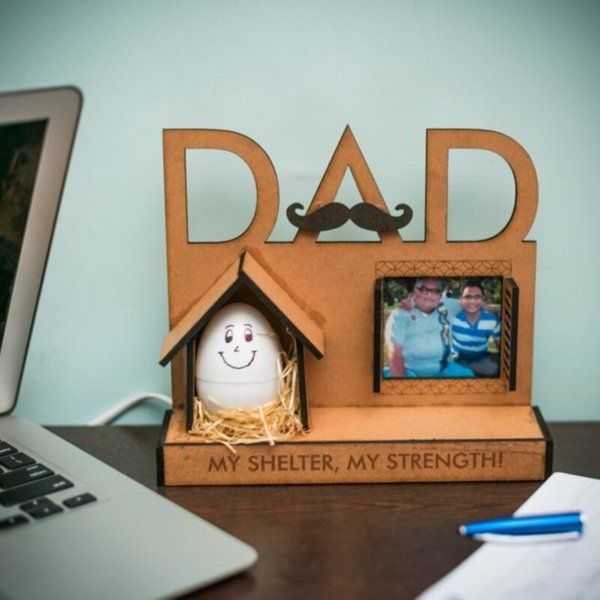 Zoci Voci Dad - My strength Personalized Lamp 60th Birthday Gifts For Dad
