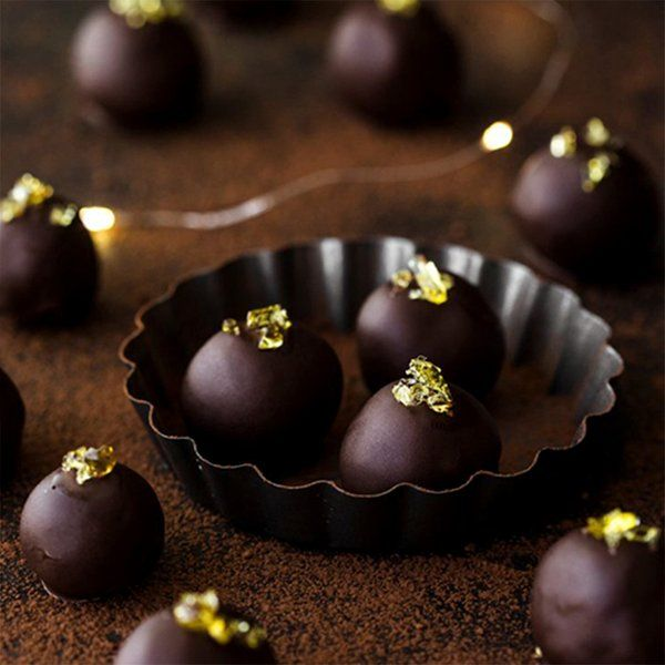 Liquor Chocolates And Cakes Dark Chocolate Rum Truffles Thoughtful Gifts For Boyfriend