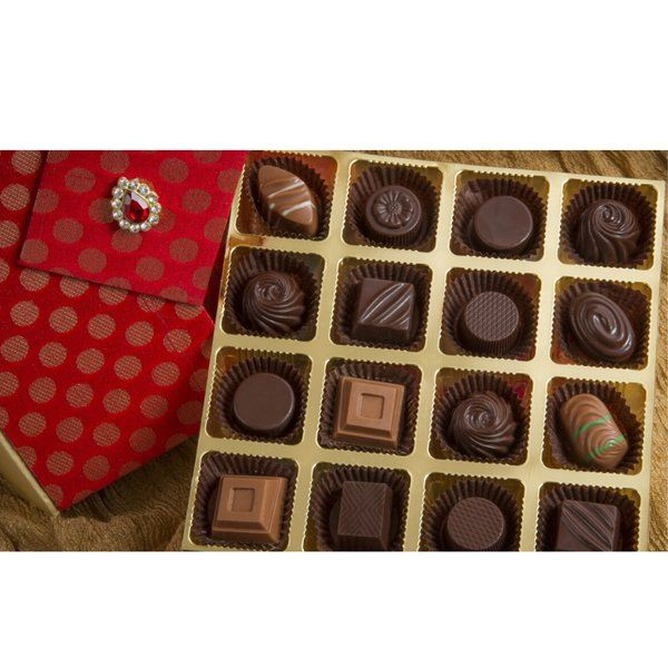 Elegant Classic Chocolate Truffles Simple Personalized Retirement Gifts