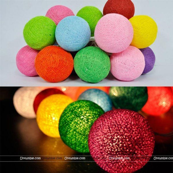 Untumble Fancy Balls Lights New Year Decoration Items