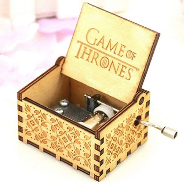 zestaindia Game of Thrones Wooden Musical Box Gifts For Boys Age 18