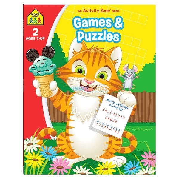 BookyWooky Games & Puzzles An Activity Zone Book School Zone Gifts For Gamers