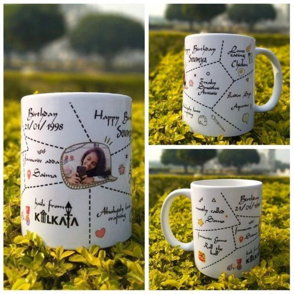 Waah Craft Happy Mug Gifts For Brothers From Sisters