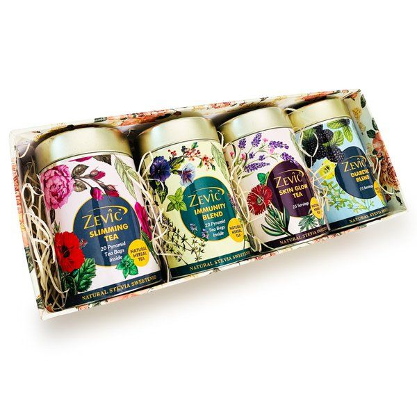 Zevic Herbal Teas Gift Pack Unique Gifts For Friends