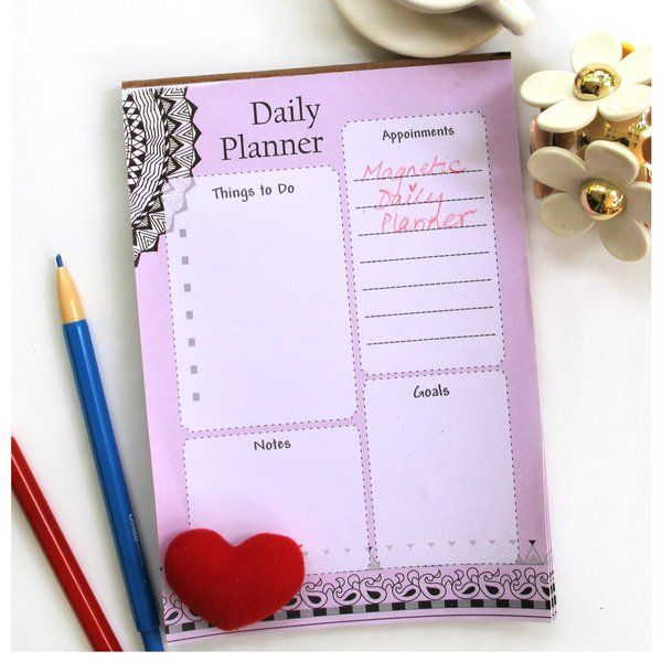 Ivei IVEI Magnetic To-Do Planner (40 sheets)  daily Planner