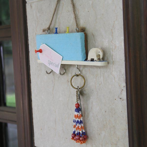 Wooden Key Holders with a Pin Board Secret Santa Gifts Under 500