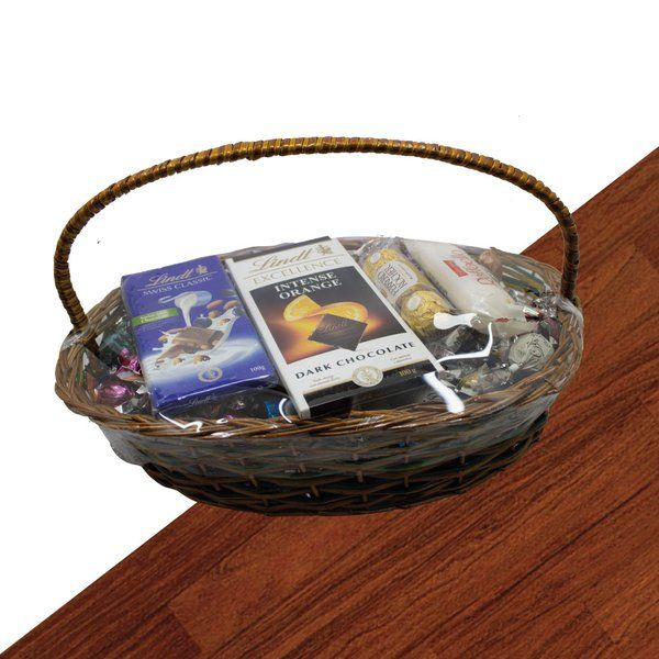 Apricot Luxury Exotica Chocolate Gift Basket Romantic Gifts