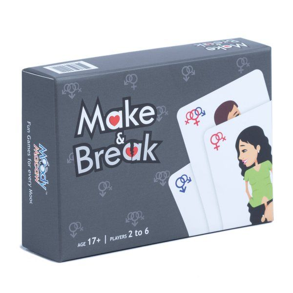 Axta Designs Make & Break: Party Card Game Gifts For Gamers