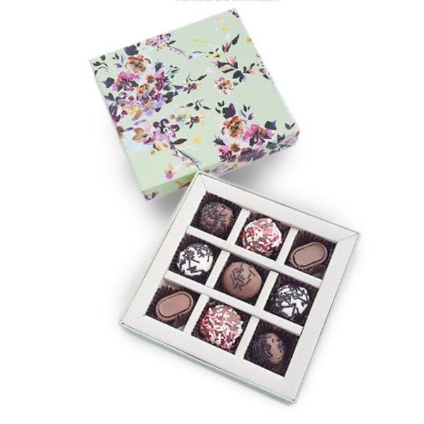 Chocolate Ideas   Marina Floral Truffles Romantic Gifts