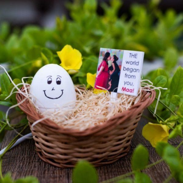 Zoci Voci Nest of Life - Personalized Egg Lamp Personalized Gifts For Mom