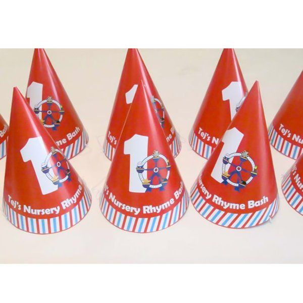 Untumble Nursery Rhymes Birthday Theme Hats First Birthday Gifts