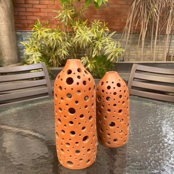 Rivaayat Perforated Candle Holder Marriage Gifts For Boy