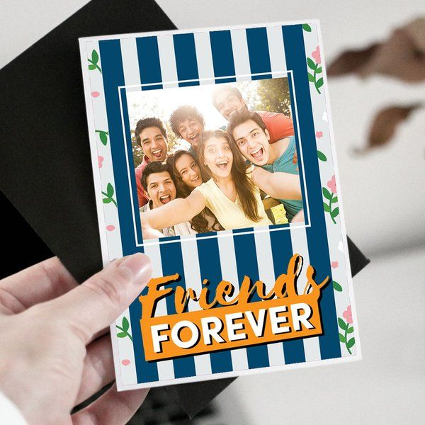 Privy Express Personalized Friends Forever Greeting Card Gifts For Boys Age 18