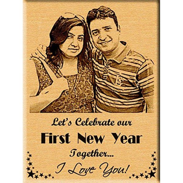 Incredible Gifts Personalized Photo Plaque New Year Gift