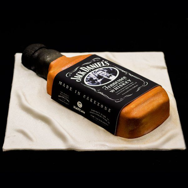 CakeZone Photo Personalized Jack Daniels Bottle Cake Exciting Gifts