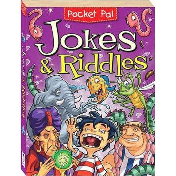 BookyWooky Pocket Pal Jokes & Riddles Story Books