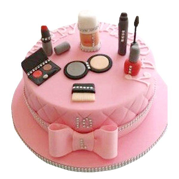 CakeZone Powder Room Women's Day Cake Funny Gifts