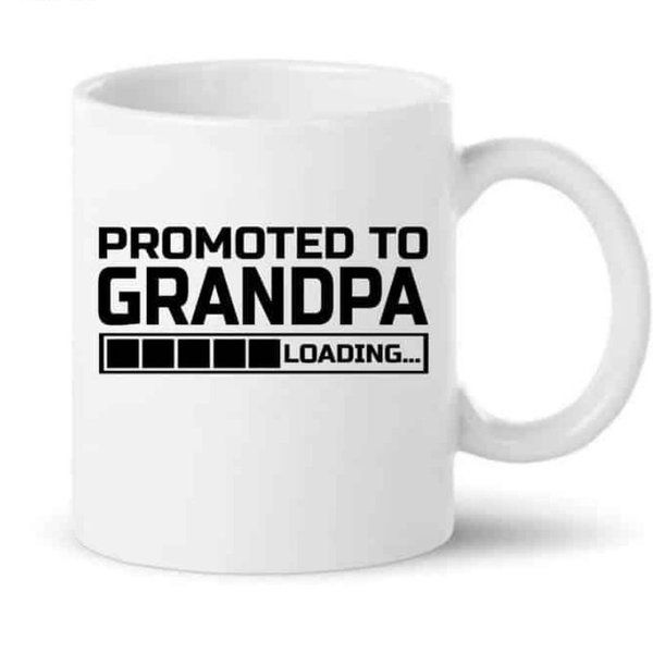 Knitroot Promoted To Grandpa Loading Mug Personalized Gifts For Grandpa