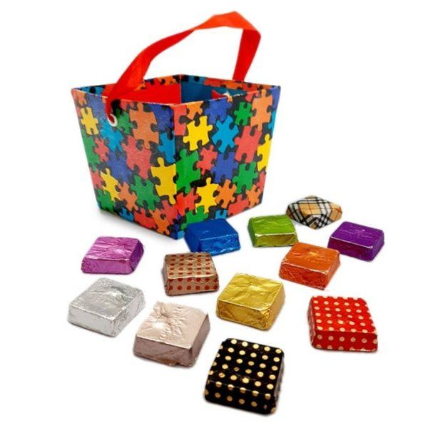 Chocolate Ideas Puzzle Basket Chocolate Box Romantic Gifts For Girlfriend
