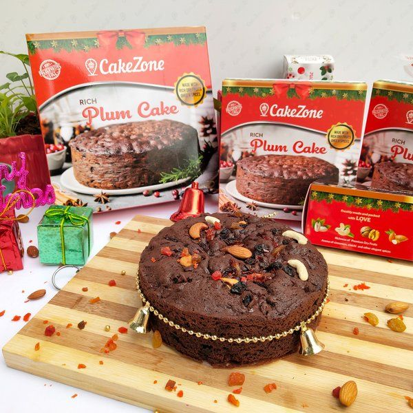 CakeZone Rich Plum Freshly Baked Dry Cake New Year Cakes