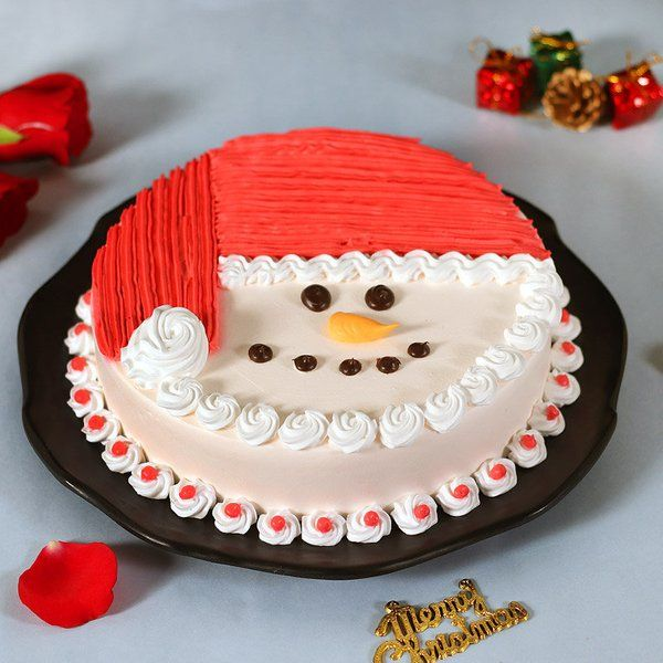 FlowerAura Santa Approved Sweetness Christmas Cakes