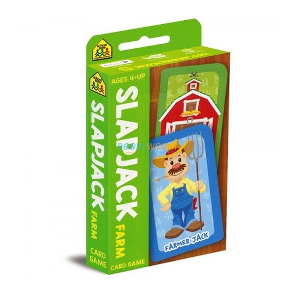 BookyWooky Slapjack Farm Card Game Gifts For Gamers