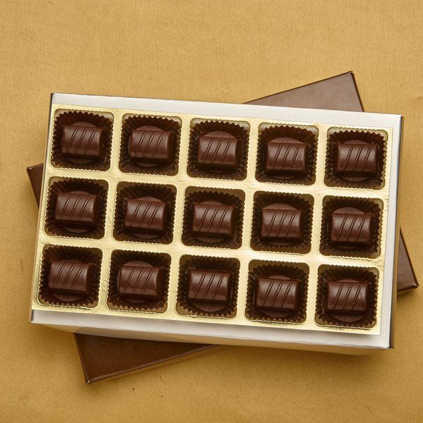Jus'Trufs Chocolatiers Sugarfree Chocolate Gift Box Happy 60th Birthday Gifts