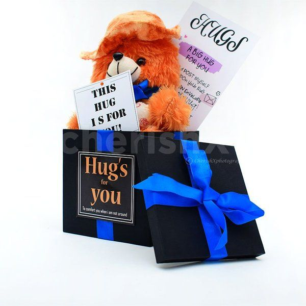 CherishX Teddy Bucket Happy Teddy Day Gift