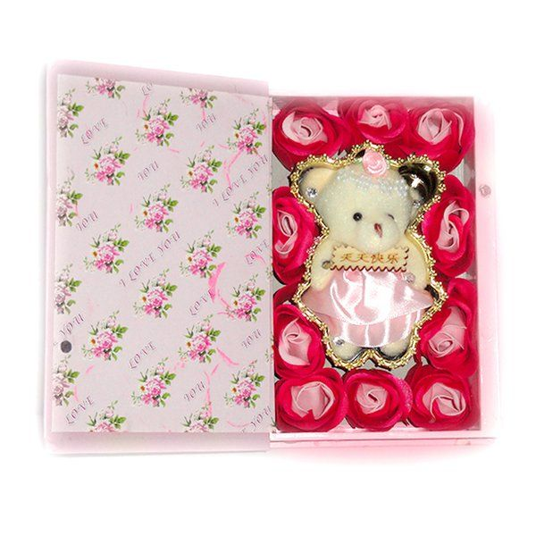 CakeZone Teddy In a Book Happy Teddy Day Gift