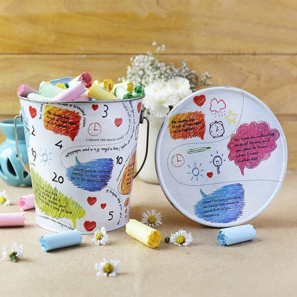 Dottedi 100 Reasons Bucket Cute Gifts For Boyfriend