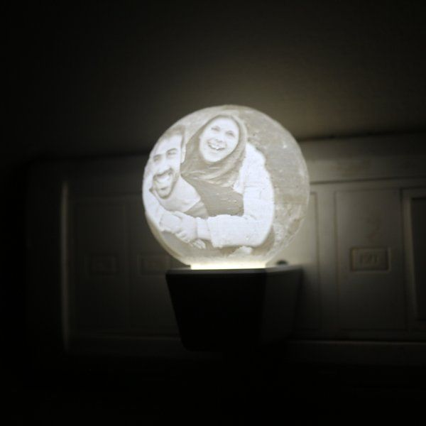 Soch3D 3D Photo Moon Night Lamp Unique Birthday Gifts For Girlfriend