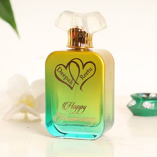 FlowerAura Anniversary Custom Perfume 2nd Anniversary Gifts For Husband