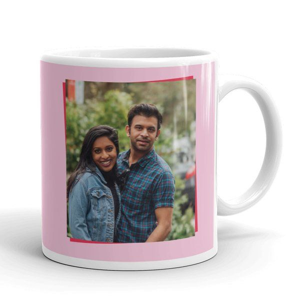 Privy Express Be Mine Forever Personalised Name & Photo Coffee Mug Coffee Mugs For Husband