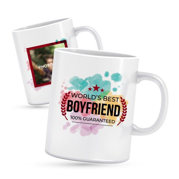 Privy Express Best Boyfriend Personalised Mug Cheap Gifts For Boys