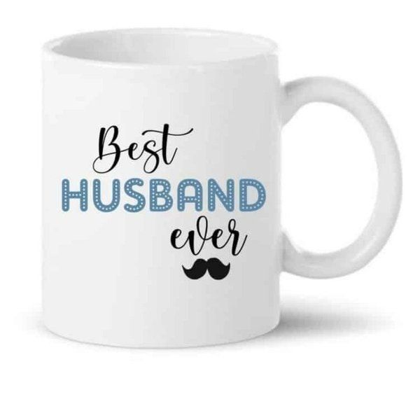 Knitroot Best husband ever Printed Coffee Mug  Coffee Mugs For Husband